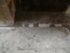 Rögzített vezetékek a gyári aljazthoronyban