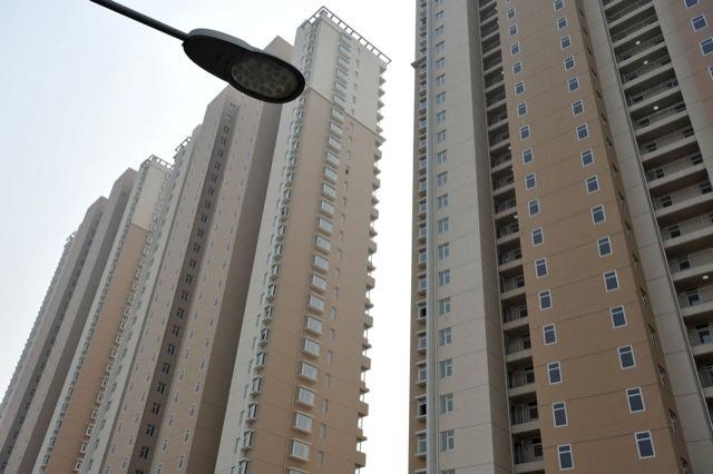 Pofátlan kamuablakokat festettek a kínai panel toronyházakra 2. kép