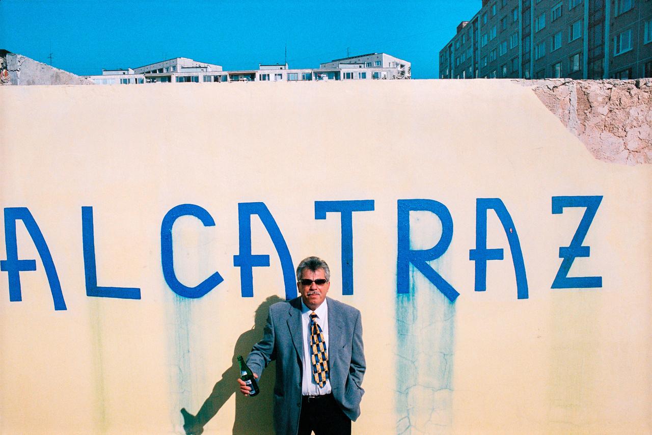 A kassai Alcatraz nevű kocsma tulajdonosa (Fotó: Andrej Balco)