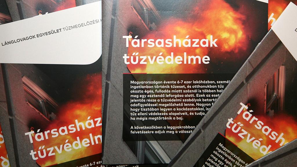 Társasházak tűzvédelme: új tájékoztató kiadvány a tűzoltóktól